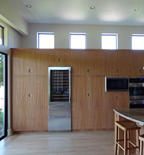 Wine and Oven Cabinets