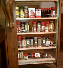 Spice Pullout Cabinet