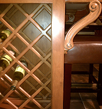 Wine Rack and support